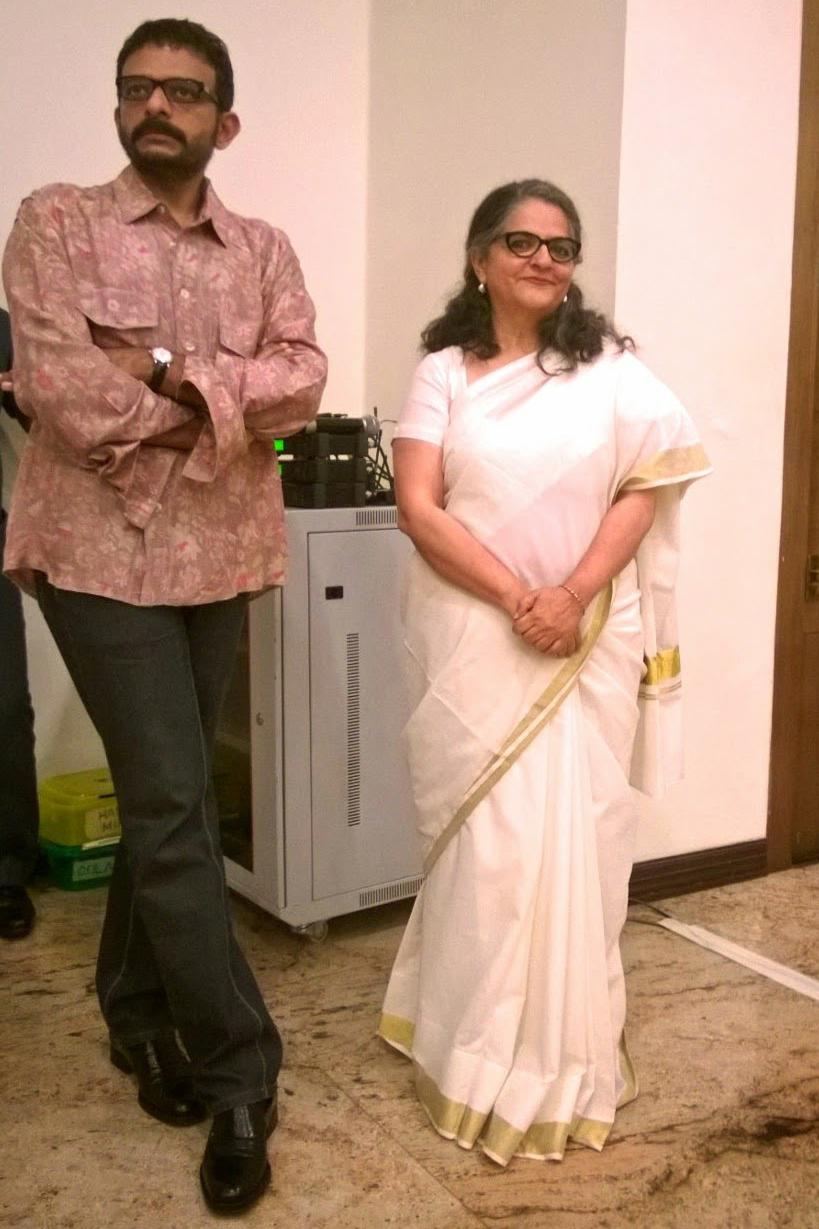 Dayanita Singh and T M Krishna